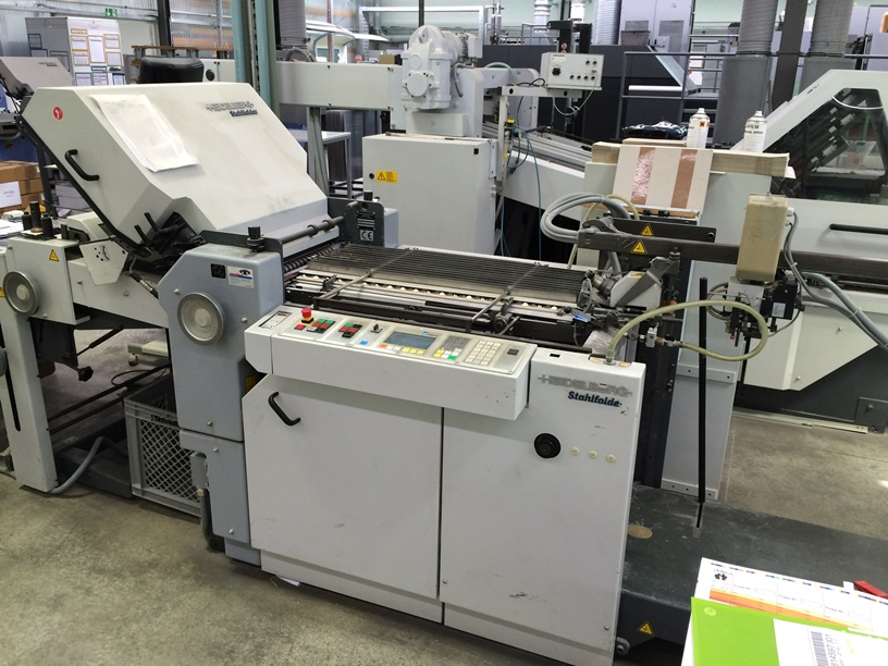 buckle plate folder german graphics used printing machines rh german graphics com